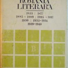 BIBLIOGRAFIA REVISTELOR ROMANIA LITERARA , BIBLIOGRAFIA REVISTEI IESENE DIN 1855 A FOST ELABORATA DE MAGDALENA MAGHIARU, AUTOR C. CIUCHINDEL, 1981