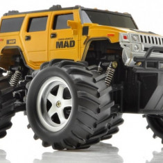 Camion NQD, Mad Monster Truck 1:16 27/40MHz RTR Cu Telecomanda - Auriu