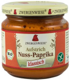 Crema tartinabila bio vegetala cu ardei si nuci caju, 200 g ZWERGENWIESE