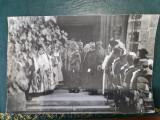 FOTO an 1917, vizita imparatului germaniei Wilhelm II , la curtea de arges