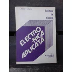ELECTRONICA APLICATA, OSCILATOARE DE MICROUNDE -T. TEBEANU