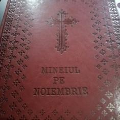 Minei pe noiembrie în piele, Liturghier, Antologhion, Arhieraticon, apostol