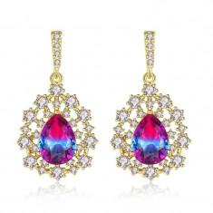 Cercei Sapphire Colours Fleur