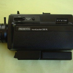 Aparat de filmat PRESENTA Travel-Poket 250 XL - ca NOU