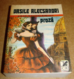 Vasile Alecsandri - proza