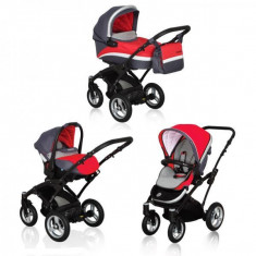 Carucior multifunctional Coto Baby Messina 3 in 1 rosu