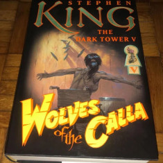 Stephen King - Wolves of the Calla editie de lux cu ilustratii (noua)