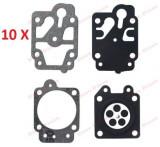 Pachet promotional 10 Buc kit reparatie carburator motocoasa