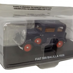 Macheta Fiat 508 Balilla 1938 CARABINIERI scara 1:43