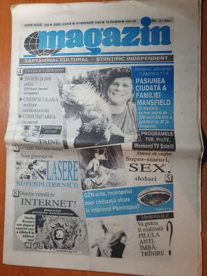 ziarul magazin 18 ianuarie 1996 foto