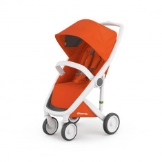 Carucior Greentom Classic Upp 100% Ecologic White Orange