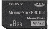 Card Memorie- Pro Duo -Memory Stick Produo-8gb-PSP-Camere video