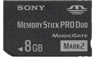 Card Memorie- Pro Duo -Memory Stick Produo-8gb-PSP-Camere video foto