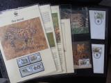 Serie timbre fauna WWF animale feline serval nestampilate filatelice