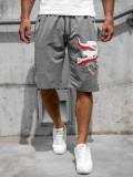 Pantaloni scurți grafit bărbați Bolf QN254A