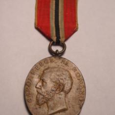 Medalia Jubiliara Carol I 1866 1906 pentru Militari