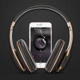 Casti Audio Wireless cu FM radio,Mp3,Card, negru, Casti Over Ear, Active Noise Cancelling