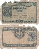 1910 (30 IX), 500 Reis (P-105a.2) - Portugalia