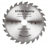 Cumpara ieftin Disc ferastrau cu panza circulara STERN, SBT210/24, taiere lemn, 24 dinti, 210 mm