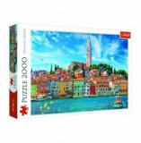 Puzzle Rovinj: Croatia, 2000 piese, Trefl