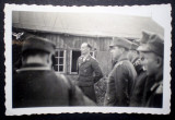 P.113 FOTOGRAFIE RAZBOI WWII MILITARI OFITER GERMAN AVIATIE LUFTWAFFE 9/6cm