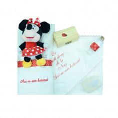 Trusou botez fetite Mini Bimbi Minnie Mouse TMB-07, Multicolor
