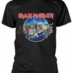 Tricou Iron Maiden: Wasted Years Circle