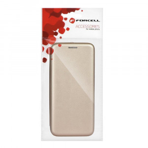 Husa Forcell Elegance Book Samsung Galaxy S10 Gold