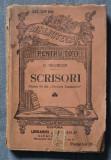 C. Negruzzi - Scrisori (partea a III-a din Păcatele tinerețelor)