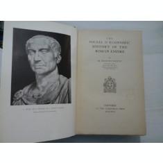 THE SOCIAL ECONOMIC - HISTORY OF THE ROMAN EMPIRE - M. ROSTOVTZEFF