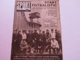 Revista SPORT-nr.2/01.1970 (echipa de fotbal a Romaniei,fisa biografica Lucescu)