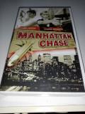 VHS Manhattan Chase (Karate) Film bun, Caseta video, Engleza
