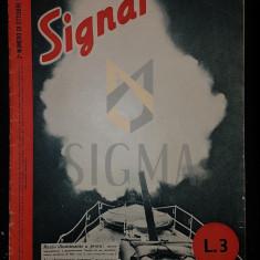"""REVISTA DE PROPAGANDA HITLERISTA """"SIGNAL"""", NUMARUL 20 DIN OCTOMBRIE 1942 - SIGNAL, REVISTA DE PROPAGANDA HITLERISTA, NUMARUL 20 DIN OCTOMBRIE 1942"""