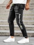 Cumpara ieftin Blugi joggers negri bărbați Bolf KK1100
