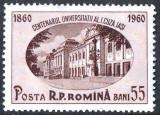 1959 LP486 serie Centenarul Universitatii Al I Cuza - Iasi - MNH, Nestampilat