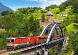 Puzzle Castorland - Train on the Bridge 500 piese