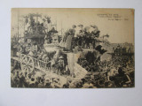 Carte postala franceza carnavalul de la Nice:Placeri pe Coasta de Azur cca.1915, Franta, Necirculata, Printata