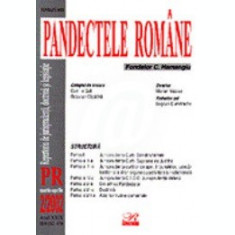 Pandectele romane - Repertoriu de jurisprudenta nr. 4 iulie-august