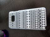 Husa model transparent, Samsung Galaxy Note 5, carcasa protectie spate telefon, Plastic