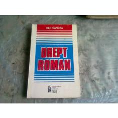 DREPT ROMAN - DAN OANCEA