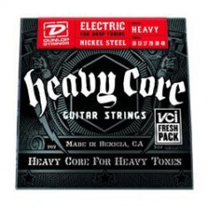 Corzi chitara electrica Dunlop Heavy Core 10-48