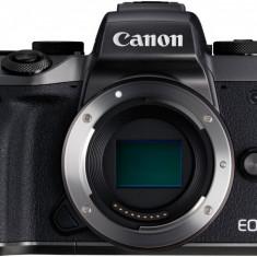 Aparat Foto Mirrorless Canon EOS M5, Body, Negru