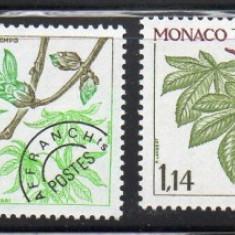 MONACO 1981, Flora, serie neuzata, MNH