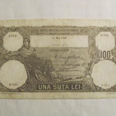 """CY - Bancnota Romania """"100 lei 13 Mai 1932"""""""