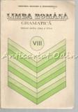 Limba Romana. Manual pentru Clasa a VIII-a - Ion Popescu