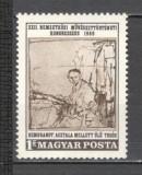 Ungaria.1969 Congres international de istoria artei Budapesta  LH.112, Nestampilat