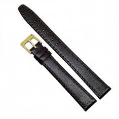 Curea pentru ceas din piele naturala Maro XL - 14mm - C3125