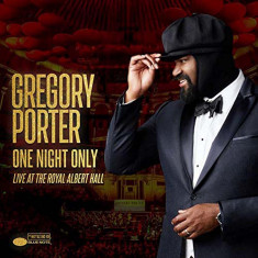 Gregory Porter One Night Only Live At The Royal Albert Hall (cd+dvd)