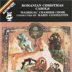 CD 'Madrigal' Chamber Choir Conducted – Romanian Christmas Carols, ELECTRECORD