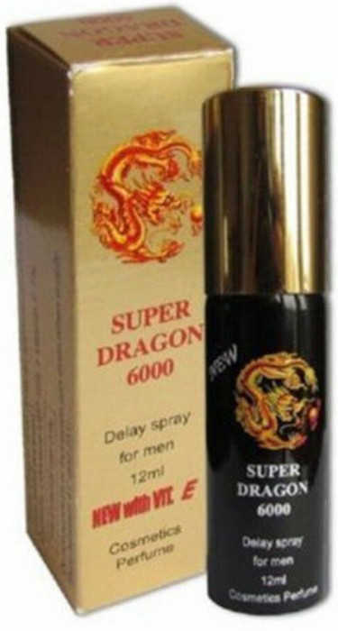 Super Dragon 6000 spray ejaculare precoce